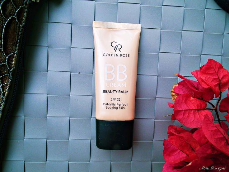 Krem BB Golden Rose – delikatne krycie i super pielęgnacja!  http://www.mrsmartyni.pl/2016/05/golden-rose-bb-cream-beauty-balm.html