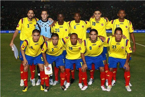 Alineando con los mejores del mundo #SeleccionColombia