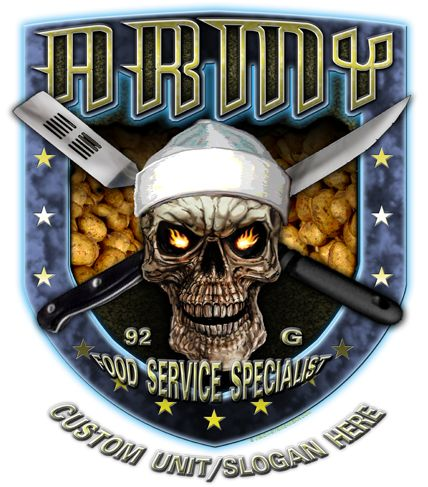 92 Golf Food Service Specialist Army MOS Shirt