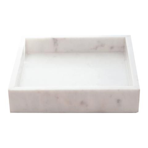 Square Marble Tray - 20 cm