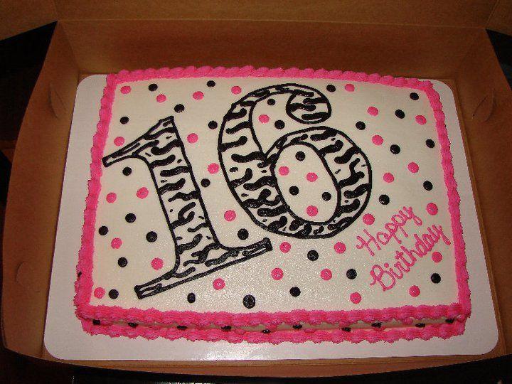 16th Birthday 16th Birthday Party Ideas Pinterest