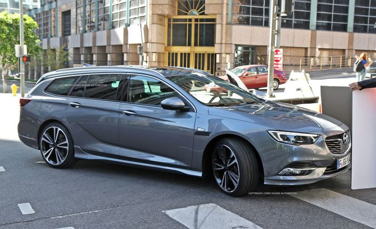 This, dear reader, is a 2018 Opel Insignia Sports Tourer. If you live in America there's a good chance you don't care what a new Opel wagon looks like because you assume you can't buy one anyway. But you might be able to, soon! Because word on the street is this thing is the next Buick Regal wagon.