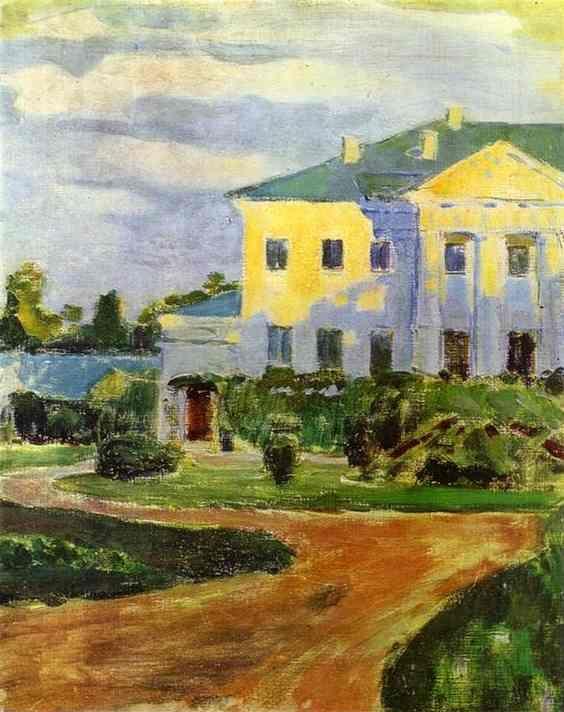 "Victor Borisov-Musatov: ""Manor House at Zubrilovka"""