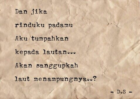 Puisi - Puisi Cinta - Puisi Singkat - Poems - Poetry #Indonesia