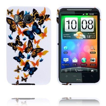 Symphony (Sekalaiset Perhoset) HTC Desire HD Silikonisuojus