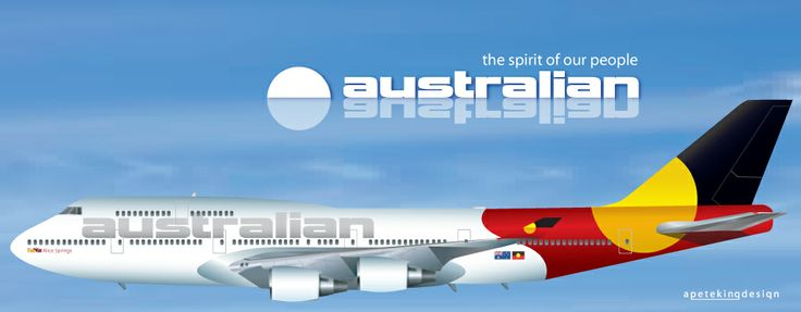 Australian Airlines Boeing 747-400 Livery Aviation Design - Modified Airliner Photos