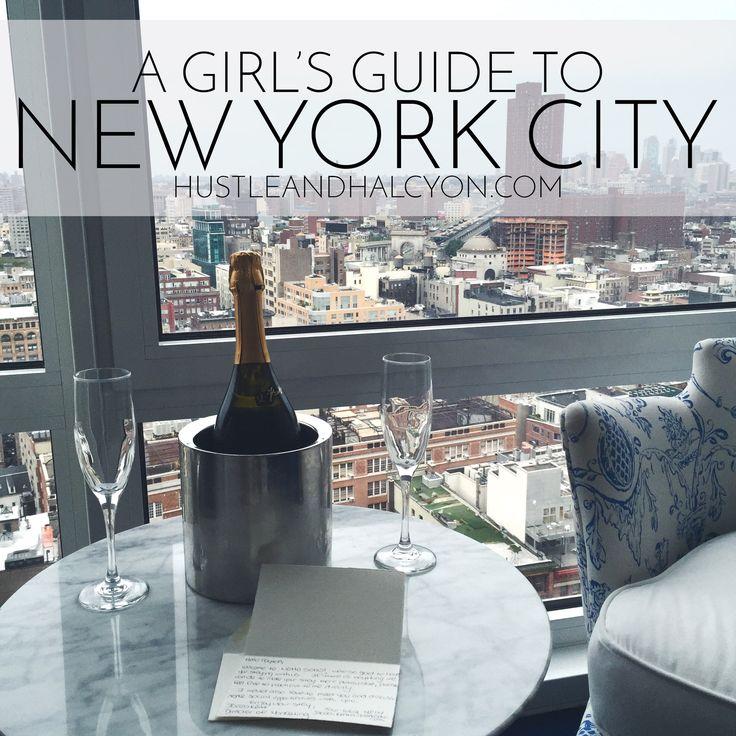 A Girl's Guide to New York City: An Ever-Growing, Collaborative Guide to New York City // www.HustleAndHalcyon.com