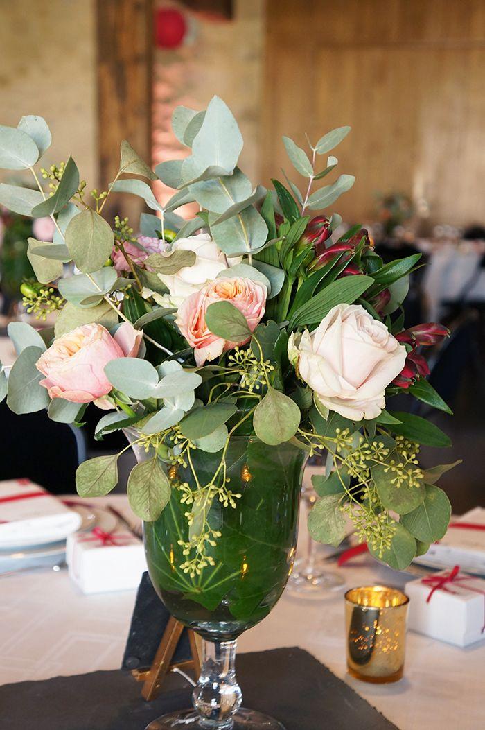 Mariage Romantique Floral - Design Dessine-moi une etoile - Fleurs Aude Rose