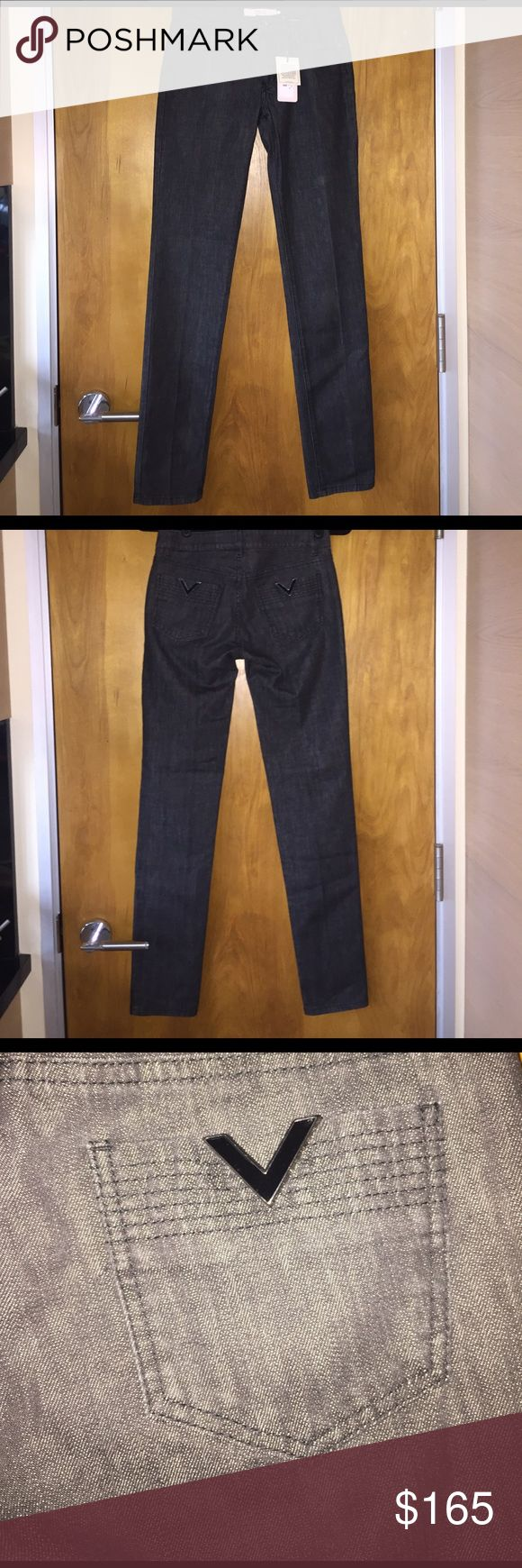 RED Valentino jeans In perfect condition! Washed black denim straight leg authentic RED Valentino jeans. RED Valentino Jeans Straight Leg