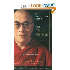 A great insight into Buddhism and the Dalai Lama and reminding us that happiness is a product of the mind and not of our objective situation...