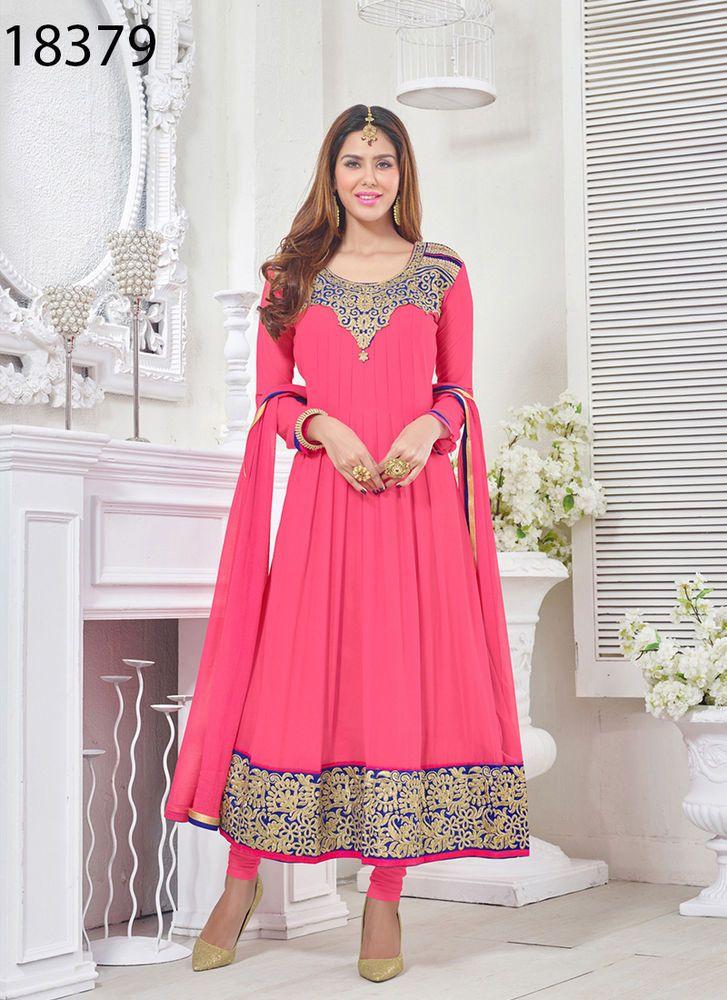 Salwar Anarkali Indian Kameez Dress Pakistani New Designer Ethnic Suit Bollywood #KriyaCreation