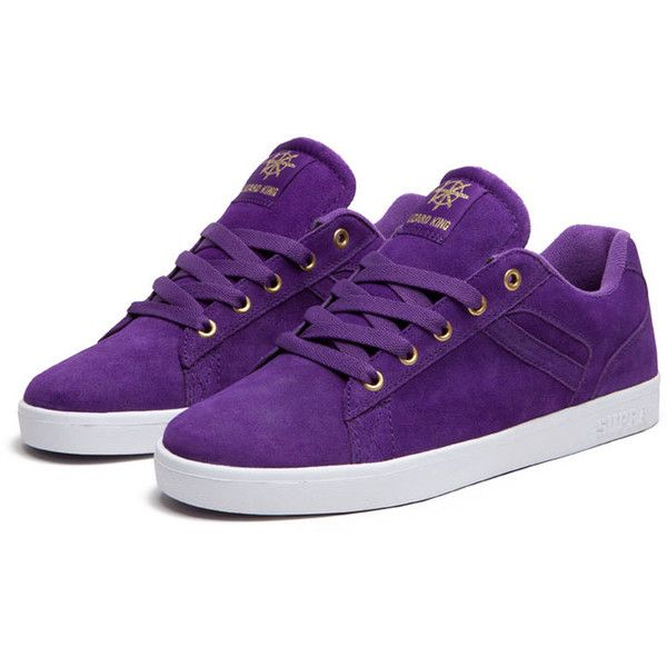 SUPRA Footwear ($54) ❤ liked on Polyvore featuring shoes, sneakers, zapatos, supra, footwear, supra trainers, white shoes, mesh shoes, purple shoes and supra footwear