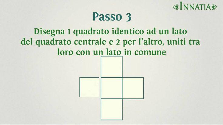 Come fare un cubo di carta o cartone passo per passo | INNATIA.IT