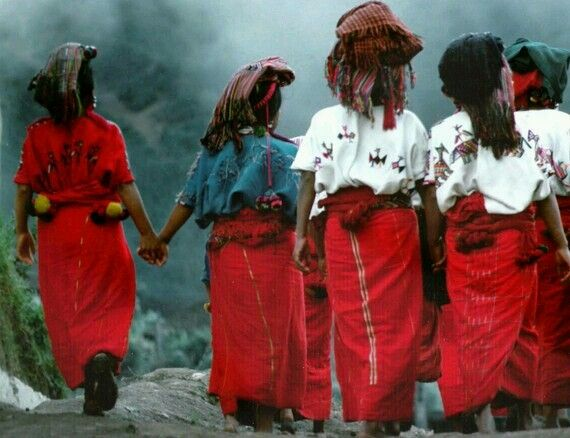 Guatemalan Women Original Fine Art Color Photograph