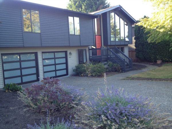 30 best split entry images on pinterest exterior homes for Split level renovation