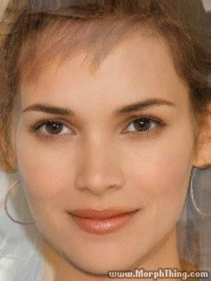Soft Gamine KIbbe: Reese Witherspoon, Halle Berry, Winona Ryder (Morphed) - MorphThing.com