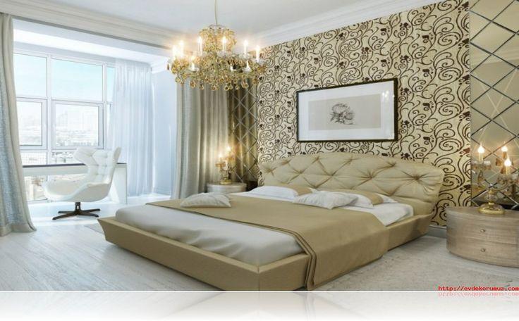 yatak odaları için duvar