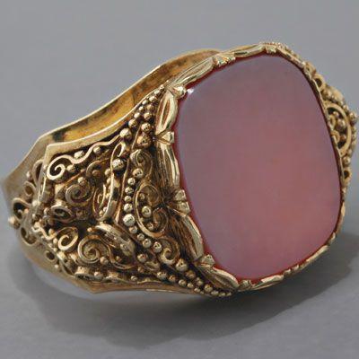 Mens Vintage Gold Rings Men's vintage gold ring