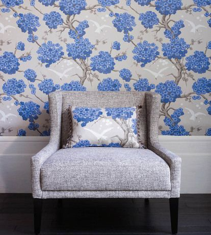 Japonerie Wallpaper by Osborne & Little | Jane Clayton