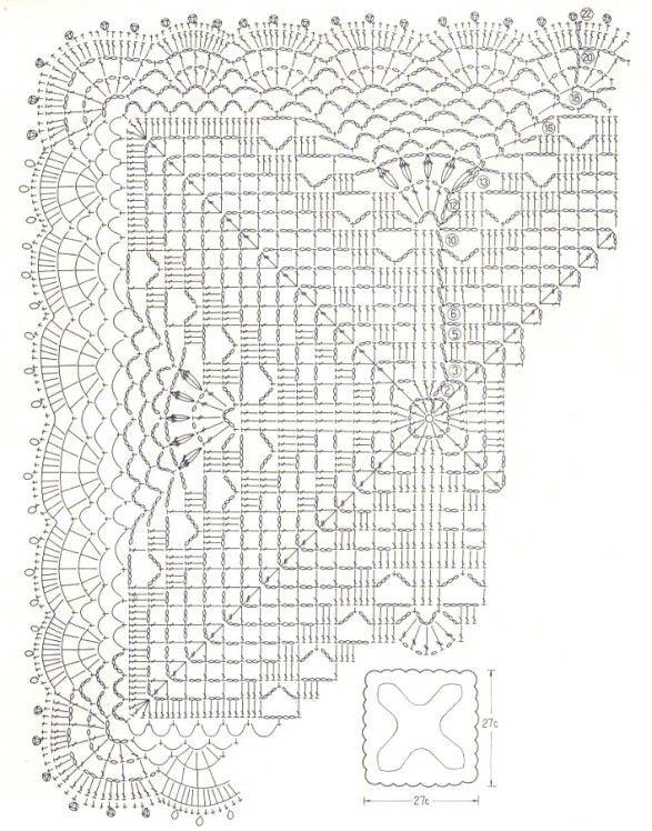Napperons carrés - Napperons carrés et… - Napperons carrés et… - Napperons carrés et… - Le blog de Anne