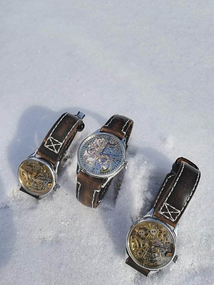 Hand made watch