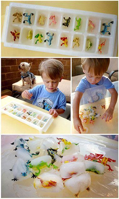 There are only two ways to live your life.: Water Play for Toddlers