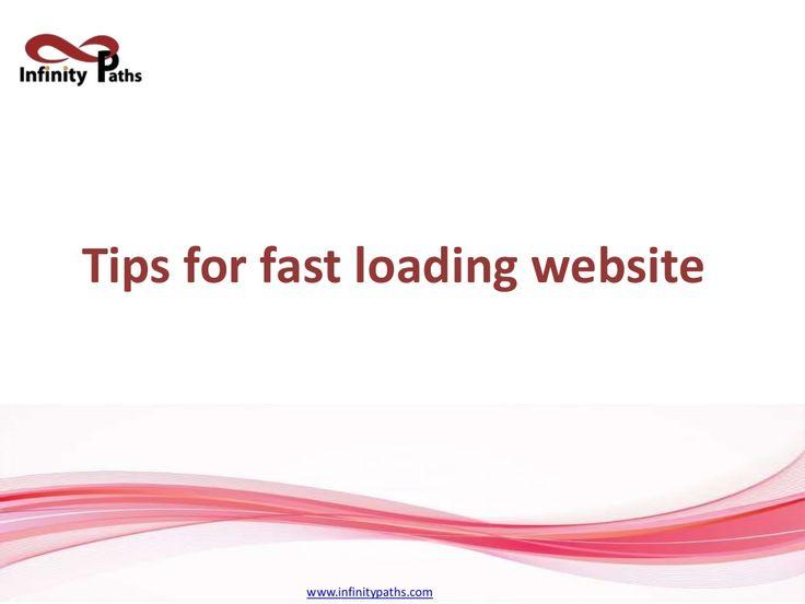 Fast Loading Website Design Development Company in Pune : Infinity Paths by infinitypathsweb via slideshare