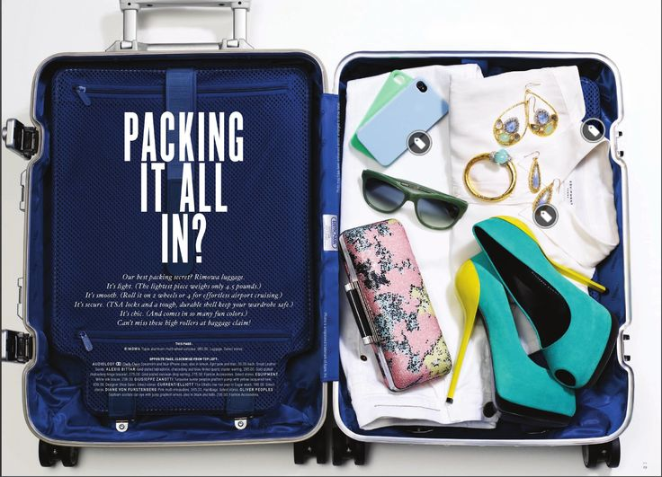 """""""Packing it all in"""" layout."""