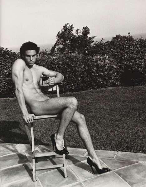 """""""Hommage à Helmut Newton"""" par Karl Lagerfeld pour Purple Magazine - Eloge de l'Art par Alain Truong R"""