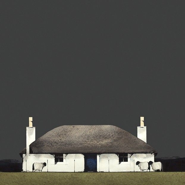 Ron Lawson, Howmore, South Uist II. Signed Limited Edition print | Scottish Contemporary Art