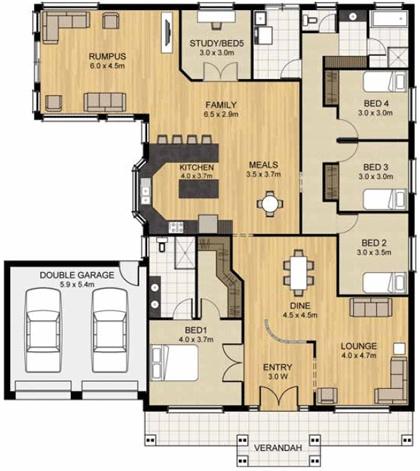 Hamilton 230 - Home Designs - Sterling Homes