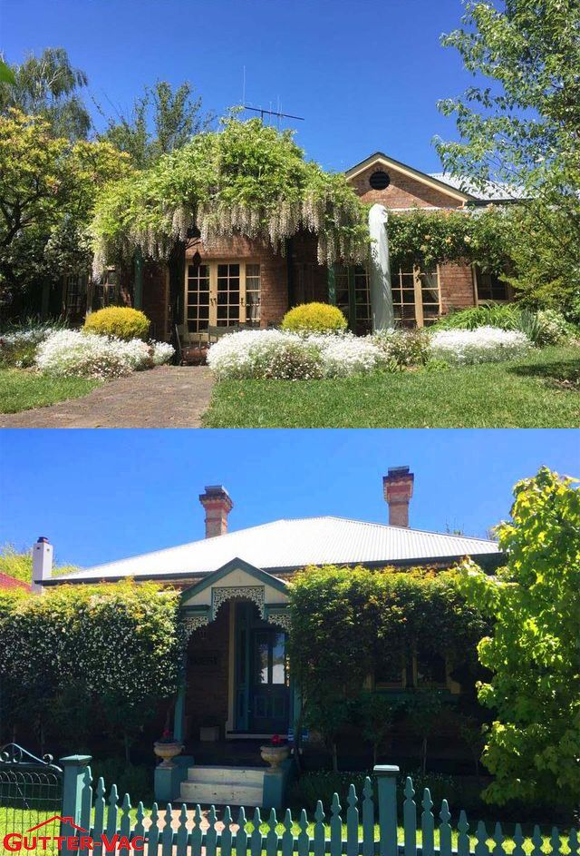 Gutter-Vac Central West #NSW cleaned the gutters on this beautiful 1910 B&B in #Orange last year! Such a beautiful property   Gutter-Vac can  clean properties of all sizes and types.