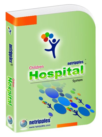 Netripples Children Hospital Software is a comprehensive ready to use software designed to automate the activities of the Children Hospital which includes Patient Appointments, Registration of Inpatient/Outpatient, Investigation Management, Cashier management, Clinic Inventory Management....read more...http://www.netripples.com/ChildrenHospital_ReadMore.aspx