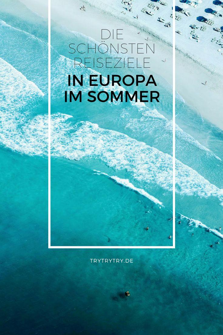 Strandurlaub in den Sommerferien? Aber die nächste Reise ist innerhalb Europas? Damit Baden im Meer trotzdem möglich ist, hier die schönsten Reiseziele in Europa.