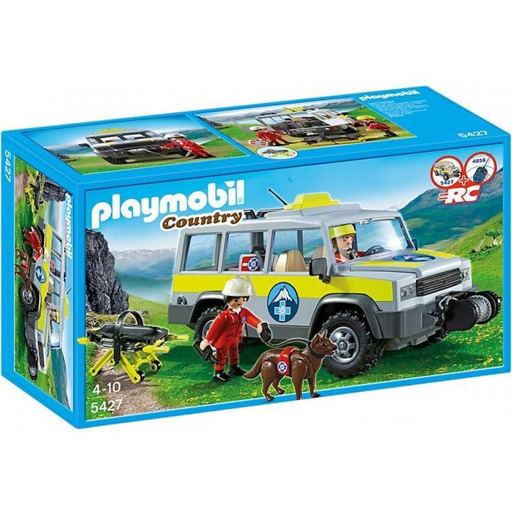 Playmobil Ομάδα διάσωσης με όχημα 4x4 - 5427