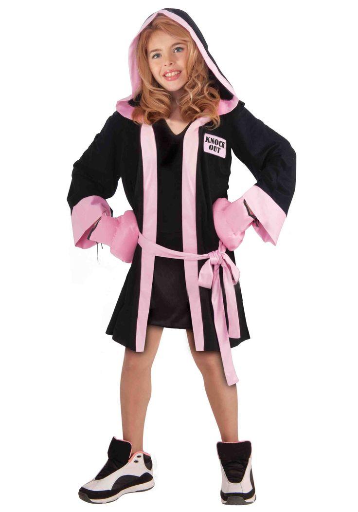 Girl Boxer Halloween Costume