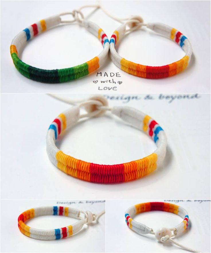Surf Bracelet for Couple