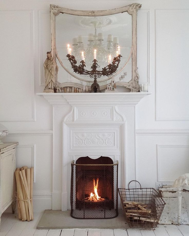 The 25 Best Ideas About French Country Mantle On Pinterest French Country Fireplace French
