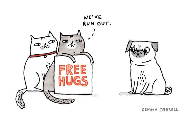 free hugs by gemma correll