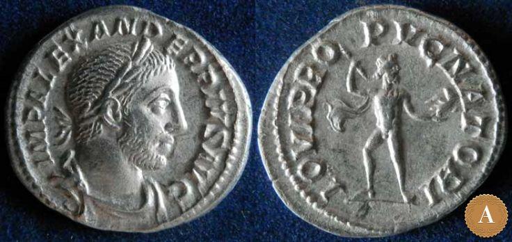 Римская империя, Александр Север, 222-235 годы, денарий. | ANDREY PYATYGIN ANCIENT COINS | Магазины | Антикварус