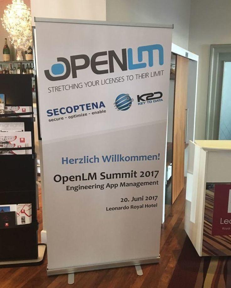 #deskcentersolutions @OpenLMSummit2017 #secoptena #mannheim #mannheimgram #businesspartner #partner #partnership #engineering #engineeringlife