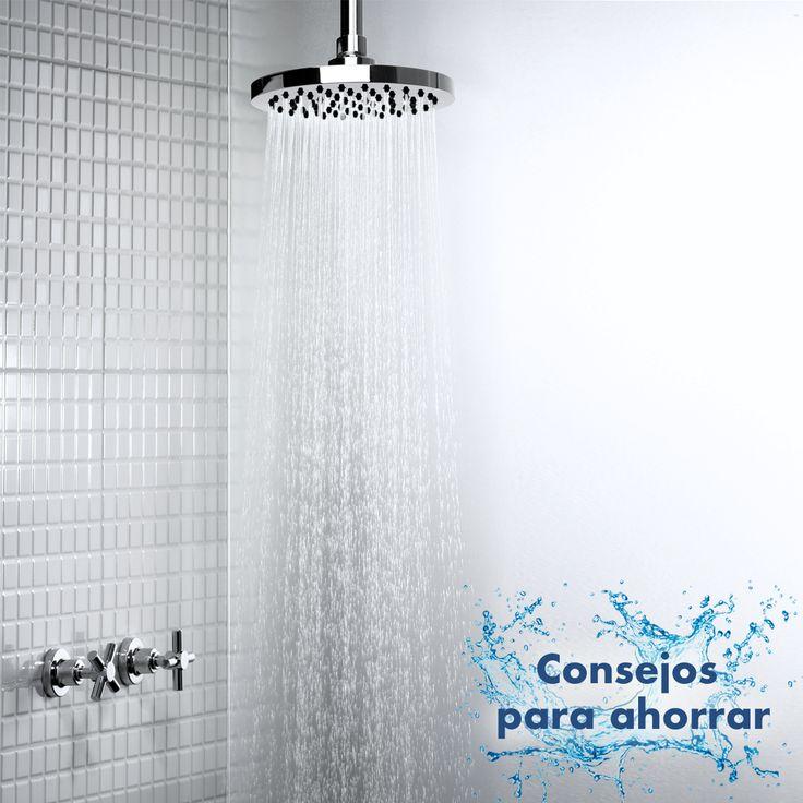 ¡Llegan los #TatayConsejos para ahorrar agua en casa 🙌🏼 ¿Sabes qué significa tomar una ducha marina? Se realiza en tres pasos: 1. Abre la ducha y mójate.  2. Ciérrala y enjabónate.  3. Vuelve a abrirla y quítate el jabón rápidamente.  🗣 Esto ahorrará una cantidad increíble de agua. Aproximadamente 2,5 litros por cada minuto que ahorres 😊