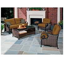 La Z Boy Outdoor Isabella Deep Seating Set   4 Pc. $1098 Sams Part 91