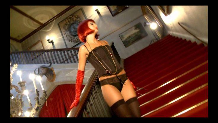 Baci lingerie: Zwarte kanten corset met jarretels   123Erotiekwinkel.com