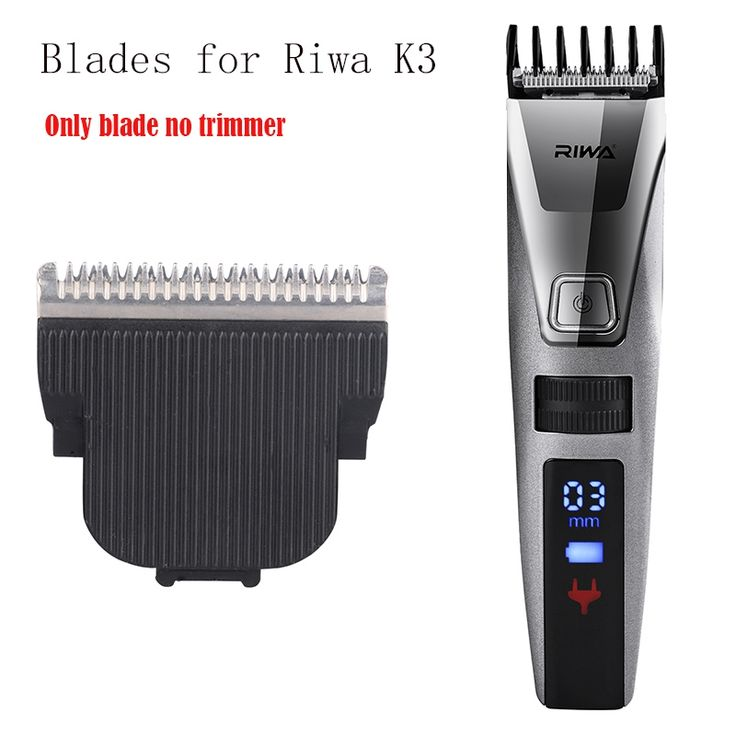 Riwa Head Hair Clipper Replacement Blade for K3 LCD Electric Trimmer Hair Cutting Machine Only 1 blade Hair Styling Accessories