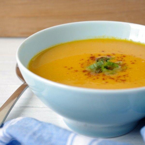 Blender Thai Pumpkin Soup (vegan & gluten free) & A Vitamix GIVEAWAY ...