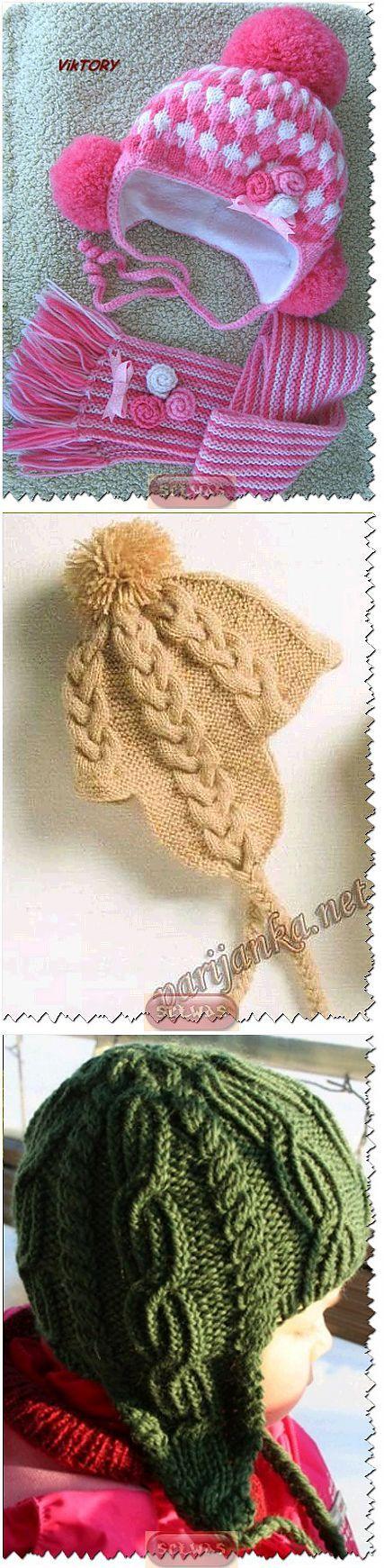 Вязание спицами страна мам шапки 155