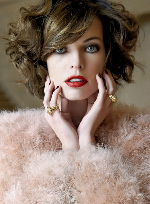 Milla Jovovich by Eric Guillemain for S Moda El Pais October 2011