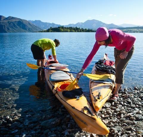 Hike, Bike and Kayak New Zealand
