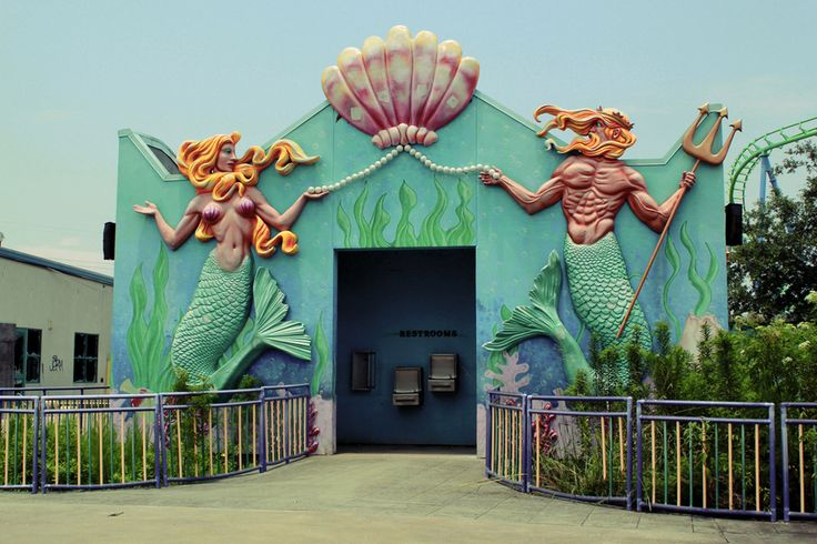 Photos Of The Abandoned Six Flags New Orleans